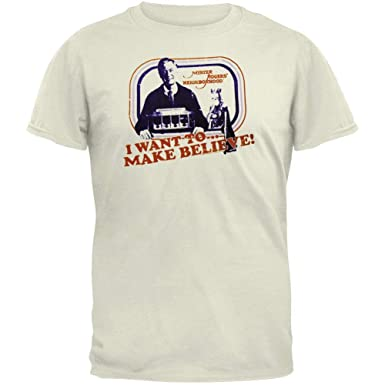 12701e500 Mr. Rogers - Make Believe Soft T-Shirt | Amazon.com