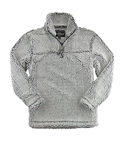 Boxercraft Youth Sherpa Pullover (Medium, Smoky Grey)