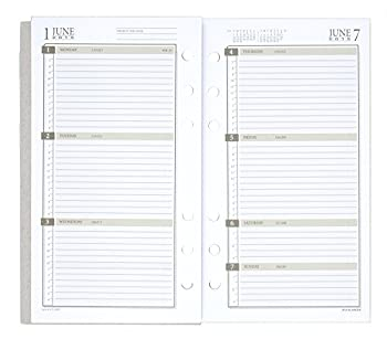 Day Runner Weekly Planner Refill 2015, 3.75 X 6.75 Inch Page Size (471-285y) 3