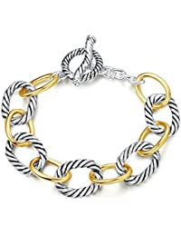 Bracelet Designer Brand Inspired Antique Women Jewelry Cable Wire Vintage Valentine