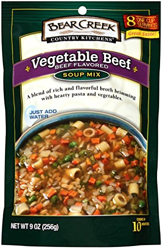 Bear Creek Country Kitchens Soup Mix, Vegetable Beef, 9.0 Ounce (Pack of 6) ()
