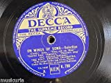 78rpm 12' ON WINGS OF SONG selection , BBC theatre orch K.790