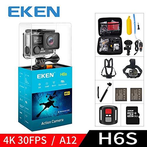 Best Go Pro Eken H6s A12 Ultra 4k 30fps WiFi Action Camera 30m Waterproof 1080p Go EIS Image Stabilization Hd 2k 14mp Pro Sport Cam