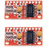 SODIAL(R) 2個2チャンネル3W PAM8403オーディオアンプボードアンプモジュール