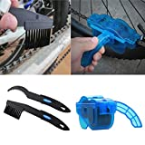 Bike Accessories,Dartphew Cleaning Brushes Wash Cleaner Cycling Bike Bicycle Chain Wheel Tool Scrubber Rotary Clean Design,for all multi-speed bikes and some single-speed models