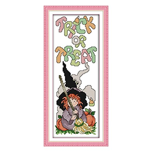 Package - Szs Cross Stitch Cartoon Happy Halloween 2 - Violin Pens Unicorn Tools Baby Toppers Case Counted Ocean Holders Blocks Mounting Threader Religious Initial Virgin Japanese Charles Magne
