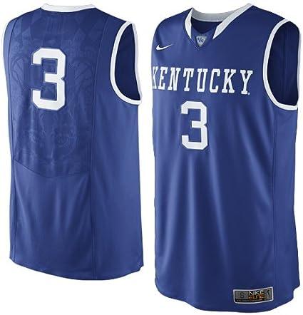 Nike Kentucky Wildcats #3 Maillot de Basketball Elite Bleu