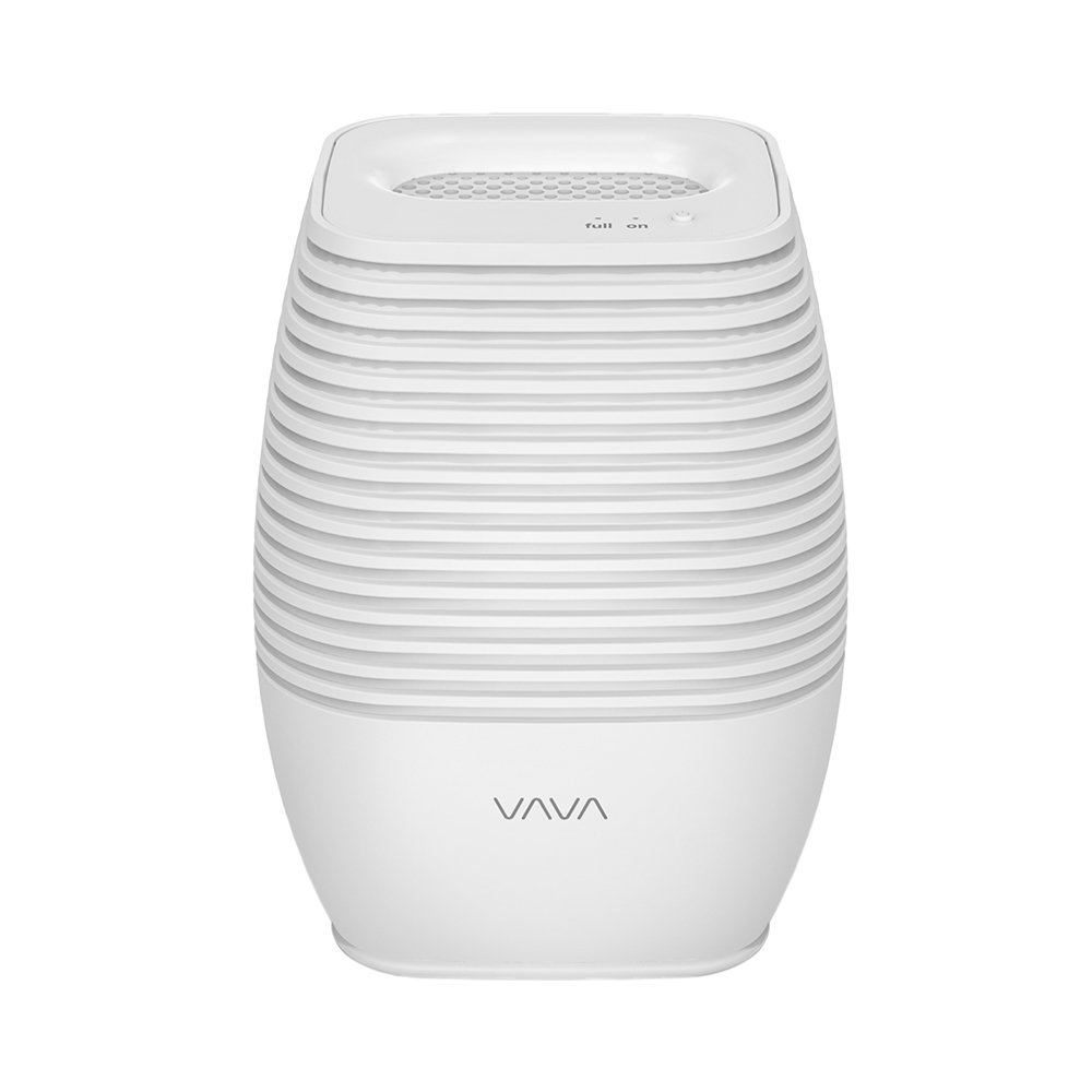 VAVA Small USB Dehumidifier Compact Moisture Absorber for Bathroom, Closet, Basements, Kitchen (Easy LED Indicators, Auto Shut-Off) 300 ML/10 OZ by VAVA (Image #1)