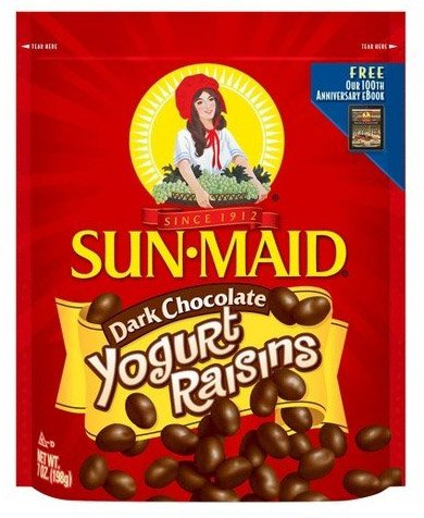 Sun Maid Dark Chocolate Yogurt Raisins 7oz