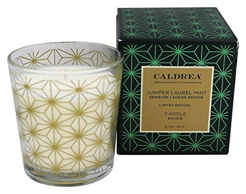 Caldrea - Candle Juniper Laurel Mint - 8.1 - Caldrea Candle