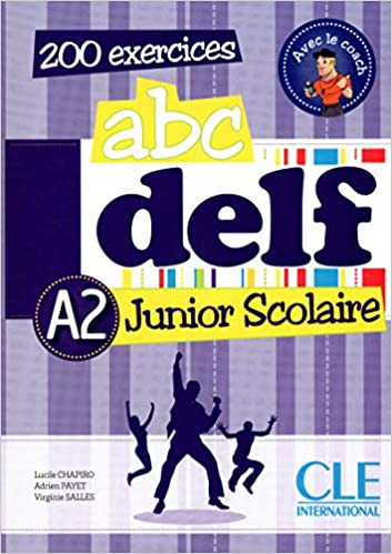 Abc Delf Junior Livre De L Eleve Cd French Edition