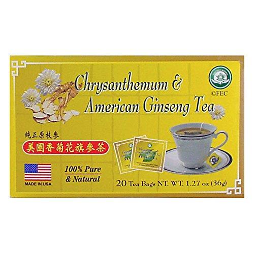 Chrysanthemum & American Ginseng Tea (20 tea bags)