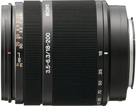 Sony Sal 18200 3 5 6 3 18 200mm Dt Sony Objektiv Kamera