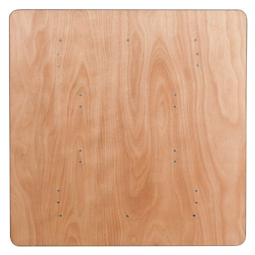 48 Commercial Quality Square Wood Folding Banquet Table