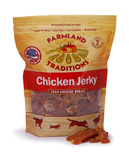Farmland Traditions USA Made Chicken Jerky Dog Treats, 3 Lb. (Chicken Treats)