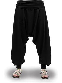 ShiFan Ropa Casual Hombre Holgados del Harem Estilo Ocio Pantalones ... 416e62f17b2d