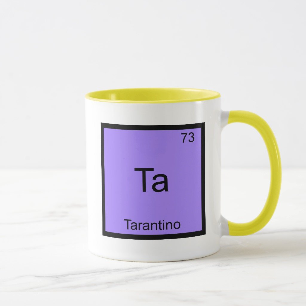 Amazon Zazzle Ta Tarantino Funny Chemistry Element Symbol
