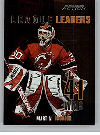 Amazon Com 2003 04 In The Game Action League Leaders Hockey L8