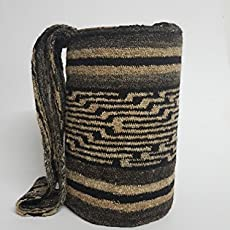 Genuine Native Colombian artisan Arhuaco handbag - Colombian mochila - Handmade.