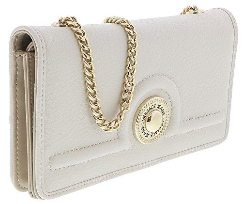 Versace EE3VRBPL2 Off White Wallet on Chain