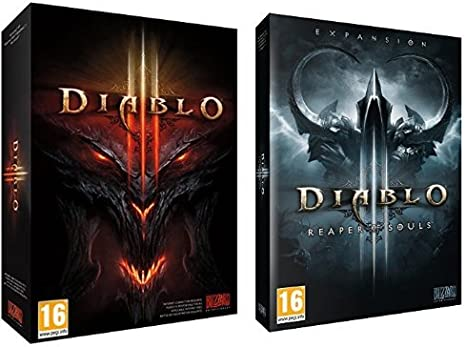 Diablo III + Diablo 3: Reaper of Souls Standard Edition: Amazon.es ...