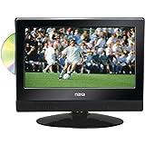 Naxa NTD1354 13.3 LED HDTV Widescreen W/ Built-In Digital TV Tuner & DVD Player Consumer Electronics