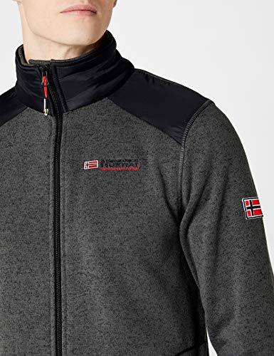 Men black d Grau Homme grey Norway Geographical Tuteur Vestes 4fngwxazEq