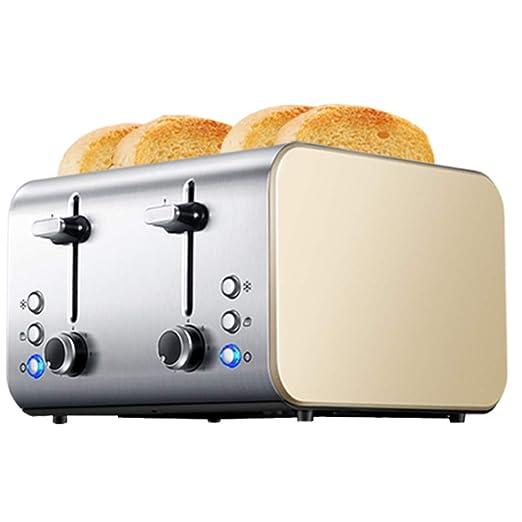YBZS 1400W de Acero Inoxidable tostadora del Pan torradeira Casa ...