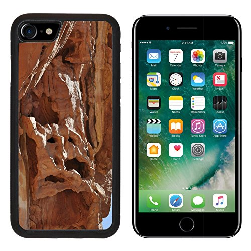 MSD Premium Apple iPhone 7 Aluminum Backplate Bumper Snap Case iPhone7 Egypt the mountains of the Sinai desert Colored Canyon IMAGE 20095992