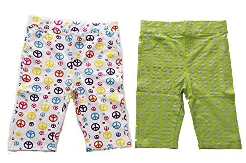 Just Love 28503-Print1-10/12 Girls Bermuda Shorts (Pack of 2)