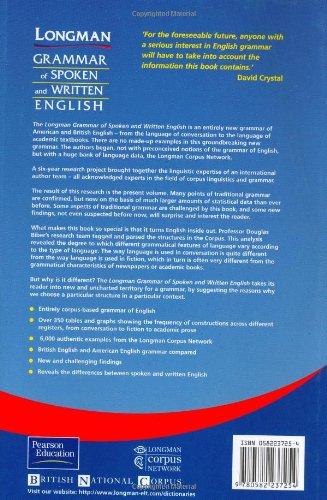 biber longman grammar of spoken and written english pdf