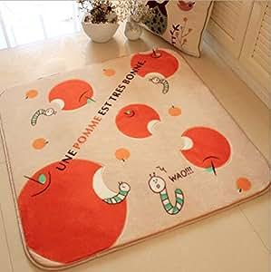 """LuK aceite de los niños dormitorio Floor Mats Cartoon ordenador silla Felpudo alfombra de peluche Living 78.74""""x39.37"""""""