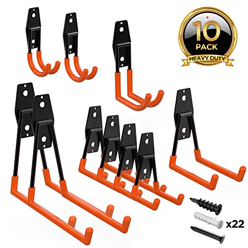 ORASANT Garage Hooks 10-Pack