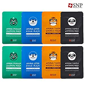 SNP Animals Character Printed Mask (4 Types X2)
