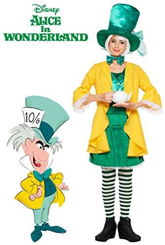 Disney S Mad Hatter Costume Teen Women S Alice In Wonderland Net Shop