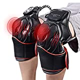 LHYCM Knee Joint Magnetic Vibration Heating Massager, Joint Physiotherapy Massage Electric Massage Pain