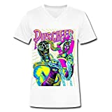 Puscifer World Tour 2016 V Neck T Shirt For Men White L
