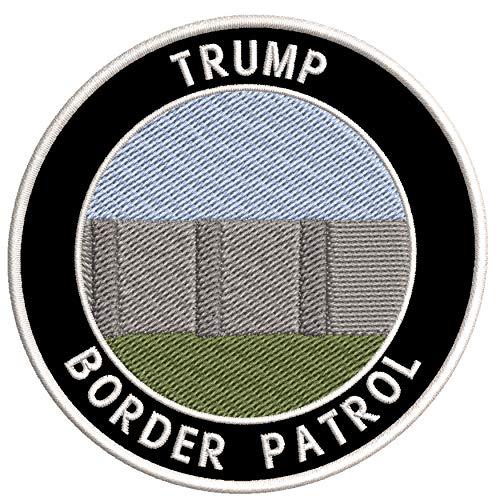 Trump 2020 - US Mexican Border Wall - Border Patrol - 3.5