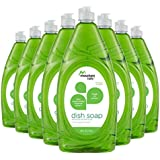 Mountain Falls Ultra Concentrated Dish Soap and Antibacterial Handsoap, Crisp Apple, Compare to Dawn, 40 Fluid Ounce (Pack of 8)