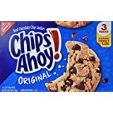 Nabisco, Chips Ahoy!, Real Chocolate Chip Cookies, Original, Resealable Family Size, 54.6oz Box