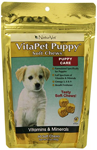 NaturVet 60 Count Vita Pet Puppy Soft Chew