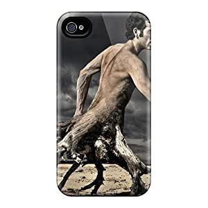New Fashionable WalkingStreet XdATW48305SNOwg Cover Case Specially Made For Iphone 4/4s(dark Weird)
