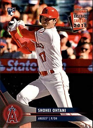 Amazoncom 2018 Topps National Baseball Card Day 8 Shohei Ohtani