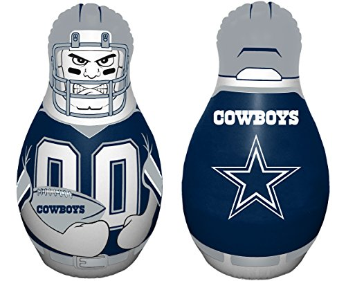 Dallas Cowboys Youth Uniform - NFL Dallas Cowboys Tackle Buddy Bag, Team Color,Blue and white