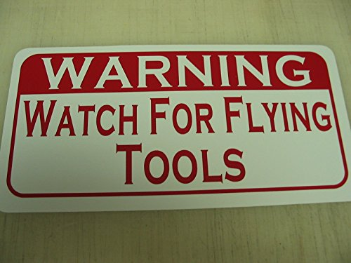 Watch for FLYING TOOLS Vintage Retro Style Metal Sign for...
