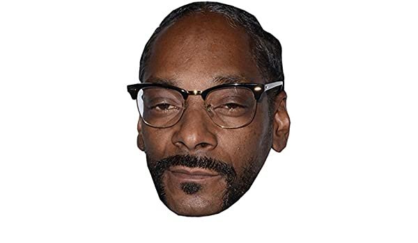 Amazon.com: Snoop Dogg Celebrity Mask, Card Face and Fancy Dress Mask: Home & Kitchen