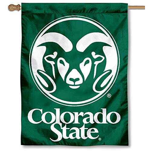 Colorado State University Double Sided House Flag by College Flags and Banners Co.