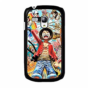 Anime one Piece Shell Case Fantastic Design With one Piece Poster Cover Case for Samsung Galaxy S3 Mini