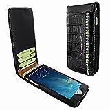 Piel Frama 682 Black Swarovski Crocodile Magnetic Leather Case for Apple iPhone 6 / 6S