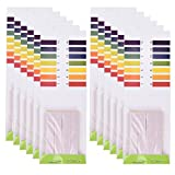 TUANTUAN 20 Packs PH Test Strips PH 1-14 Test Indicator Litmus Paper Strips Tester for Saliva Urine Water Soil Testing (1600 Strips)